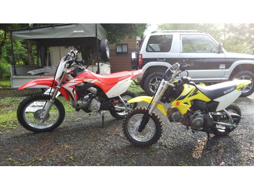 [Yamanashi Prefecture] Chartered small off-road motorcycle experience!の紹介画像