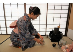 There is no doubt that it will look great on Instagram! [Asakusa, Tokyo] Tea ceremony experience that you can easily enjoy in a full-fledged tea room wearing a kimono Children can also experience it!