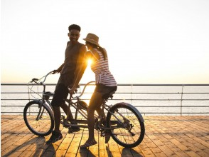 [京都/嵐山]為什麼你不騎著雙人自行車穿越區域,回到時光倒流的日本?