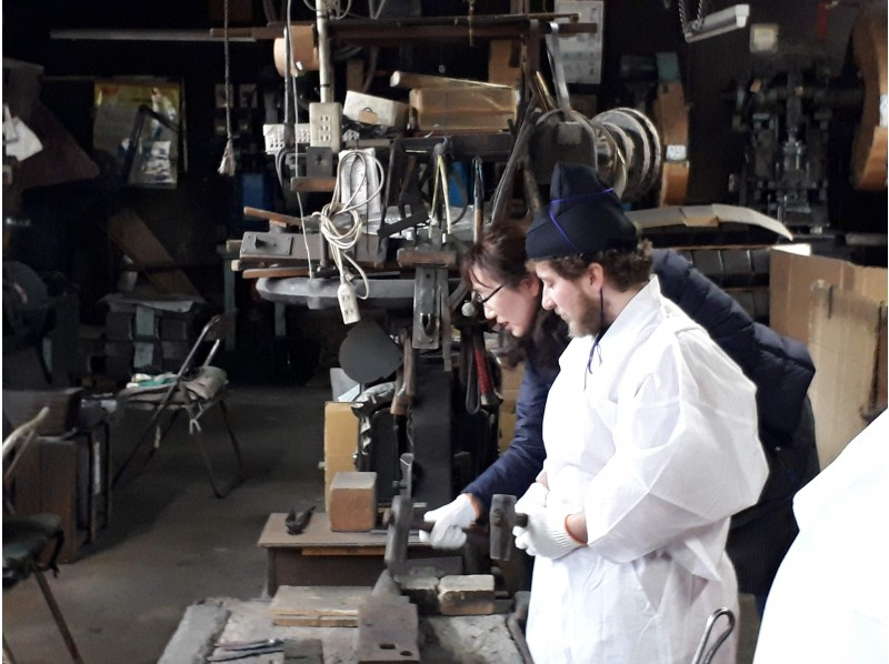 [Fukushima / Aizu] Experience making paper knives at the former swordsmith workshop in Aizuの紹介画像