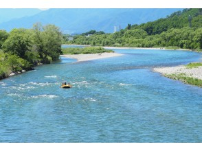 Most popular! I want to enjoy plenty of rafting! Popular with women ☆ Greedy long course <10 kg / 100 minutes>