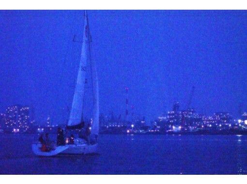 【広島・瀬戸内海】サンセット~ナイトクルージング!瀬戸内海の夕日と工場夜景を楽しもう!エスプレッソ付き(3時間)