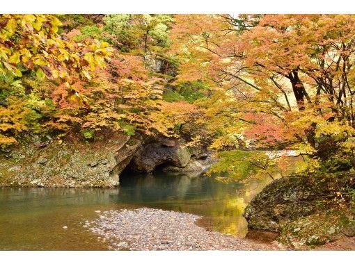 【秋田県・鹿角市】渓流にこころ洗う!湯瀬渓谷探索と温泉満喫日帰りタクシーツアー