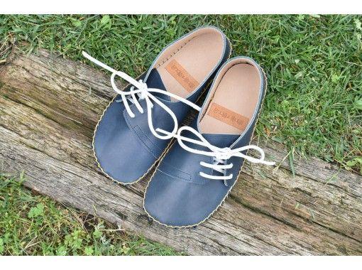 【東京・調布】素材にこだわった快適な「ヨコひも革靴」を手作りしよう(牛革・20cm~26cm・手縫い)のコピーの紹介画像