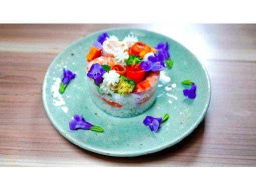 [온라인 체험] 일본 아티스트 만드는 파티 장식 초밥 케이크の紹介画像