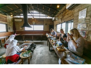 [Mie / Toba] Enjoy the fresh seafood at the celebrity course ama hut and have a good time with the ama!