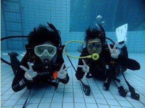 秋セール実施中【千葉県・浦安・船橋・千葉】のんびりプールで体験ダイビング(水中は別世界)記念写真付