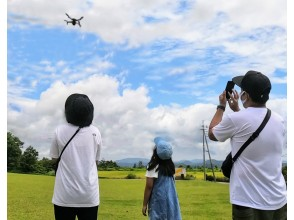 [Hiroshima / Jinseki Plateau] Drone experience Tiergarten on the Jinseki Plateau Let's fly on a plateau at an altitude of 700m! (With lunch)