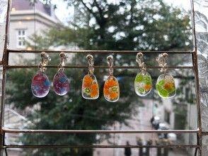 [Kanagawa / Sagamihara] Making accessories with stained glass ☆ 1 minute walk from Higashi-Rinkan Station!