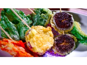 [ONLINE experience] How to make colorful vegetarian tempura You are now a tempura master!
