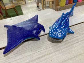 【沖縄・本部・美ら海エリア】人気のジンベエザメに色塗り体験!美ら海水族館へ行った思い出に