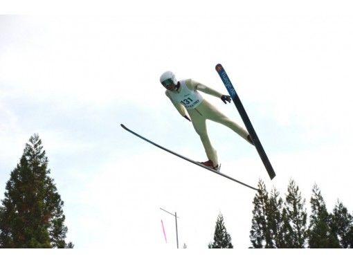 [秋田]日本前跳台滑雪代表將在家中在線中非關聯方可以在跳台滑雪平台後面進行的遊覽の紹介画像