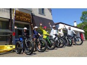 【北海道・支笏湖】ファットバイクに乗って自然の中を走りつくそう!温泉割引券プレゼント♪(3月下旬~11月)