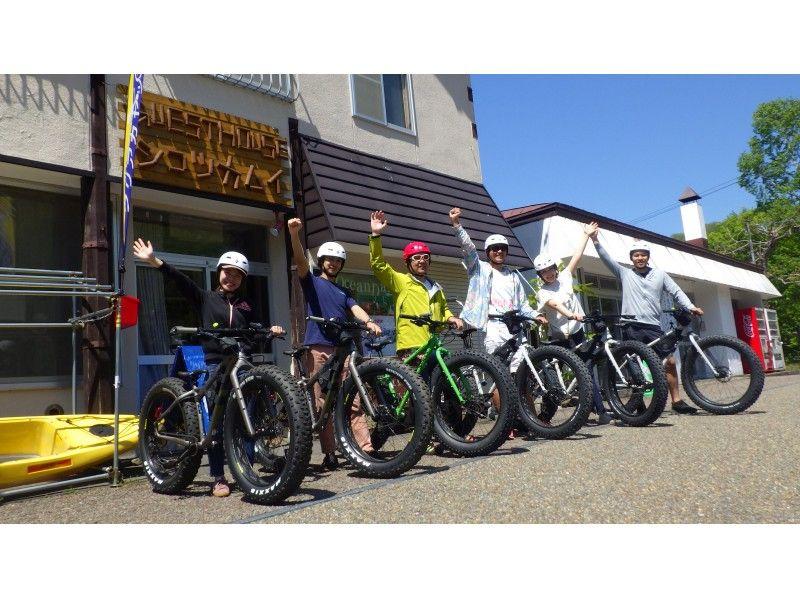 支笏湖ファットバイク(イメージ)