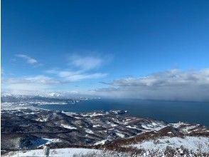 [北海道,小樽]鹽山丸山的專業導遊帶領的雪鞋遠足<初學者可以,有演講>