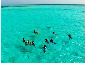 [Miyakojima] Go around the popular Yae-dori area for 2-3 points ♪ Snorkel trip<A course 11:30 flight>