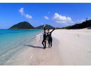 【沖縄・伊平屋島】【オンライン体験】伊平屋ブルーを潜る!スキンダイビングツアー!〈サンゴ礁を巡り海の生物を見に行こう!〉【初心者歓迎】