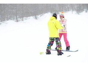 [群马/水上] [滑雪板租赁课程] <全天一对一/ 4小时完成>完整的预订系统!商务旅行类型!初学者!