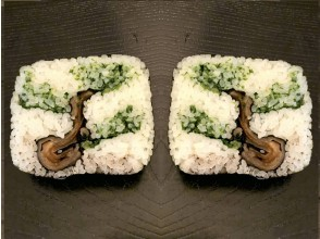"""[Kyoto / Karasuma Oike] New Year's decorative roll sushi """"pine"""" festival tree """"making experience * Beginners and overseas are also welcome ♪"""