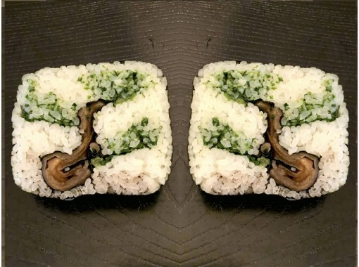 """[Kyoto / Karasuma Oike] New Year's decorative roll sushi """"pine"""" festival tree """"making experience * Beginners and overseas are also welcome ♪の紹介画像"""