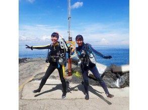 【東京・伊豆大島】初心者大歓迎!東京から一番近い島で海を満喫!安心・安全2ビーチファンダイビング!