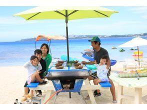【沖縄・本部・瀬底島】海を見ながらビーチでBBQ