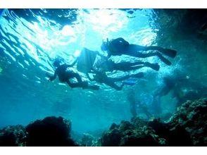 【沖縄・青の洞窟】体験シュノーケル(3時間)の画像