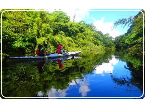 [沖縄/西表島]奈良瀑布獨木舟之旅!推薦給喜歡冒險並且有體力的人!空手OK! (帶午餐)