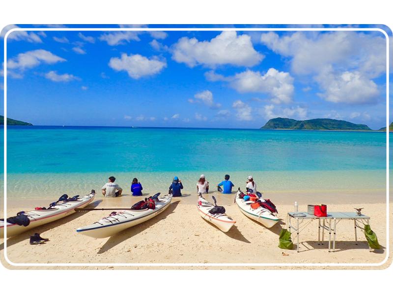 【沖縄・西表島】シーカヤックで海旅ツアー!水落の滝+絶景イダの浜!手ぶらOK!(昼食付き)の紹介画像