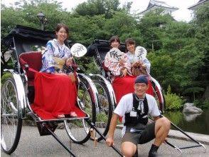 【石川・金沢】着物レンタル・当日返却&人力車で観光!ひがし茶屋街周辺45分コース