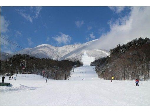 [Nagano / Iizuna] 2020-2021 Iizuna Resort Ski Resort << 1-day lift ticket >> Mure Hot spring Tengu no Yakata with bathing ticketの紹介画像