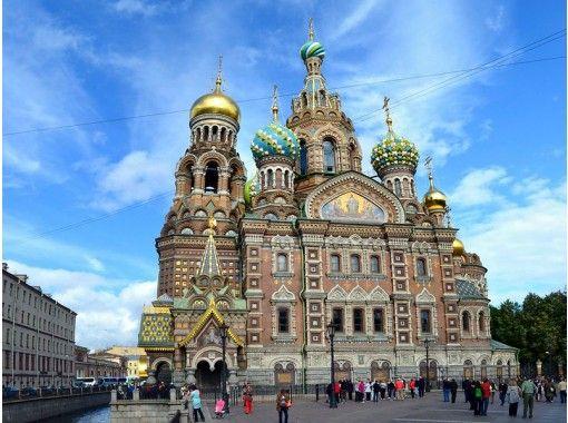 人気ロシア人YouTuberがご案内!芸術と世界遺産の宝庫にしてロシア第二の都市・サンクトペテルブルクオンライン旅行体験の紹介画像
