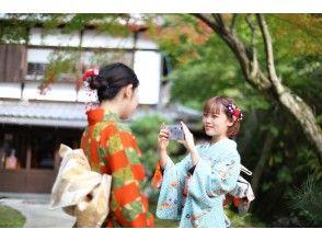 【広島・宮島】着物で茶道・書道・おまもり作り!お出かけもOK!「なでしこプラン」