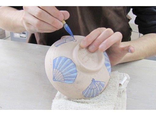 【オンライン陶芸体験】おうちで絵付け体験ができる!パソコン、スマホからレッスンが受けられますの紹介画像