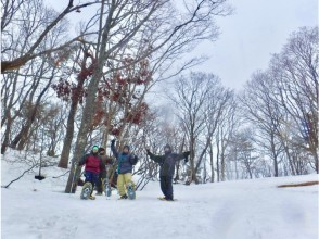 [Shiga / Takashima] Snowshoes and go see the spectacular scenery! A leisurely one-day snow mountain tour. With a nice light meal ♪