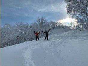【北海道・小樽】プロガイドと行くスノーシューハイキング in 朝里天狗岳<初心者OK・レクチャー付>