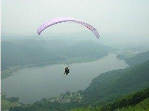 【長野・木崎湖でパラグライダー】タンデムフライトコース(60分~90分)の画像