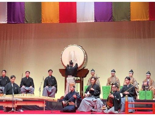 """在2/24(星期三)舉行的"""" Waraku WAGAKU""""日本文化敘事中,琵琶演奏者Tomoshioshi Tsurushin會指導您瀏覽傳統的日本音樂[在線中遊覽]の紹介画像"""