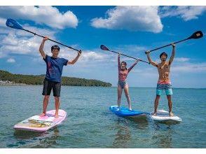 【大分・住吉浜リゾートパーク】「サップ」に挑戦しよう「サップ体験2時間」初心者・カップル・家族歓迎!