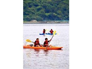【大分・住吉浜リゾートパーク】「カヤック」で海を散策。2人乗り2時間レンタルプラン。初心者歓迎