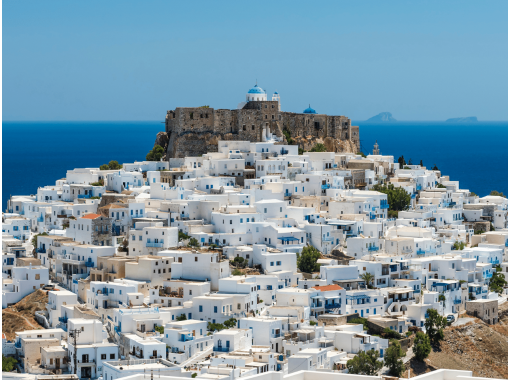 【おうち海外旅行】ギリシャ ドデカニサ諸島 3島アイランドホッピング 冬はこたつでぬくぬくオンライン海外旅行♪の紹介画像