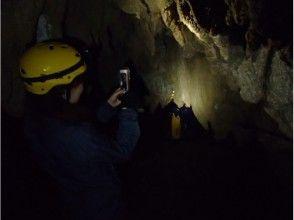 【沖縄・西表島】世界自然遺産登録地!カヌー体験クーラの滝つぼ&ケイビング1日、写真データ、昼食付き