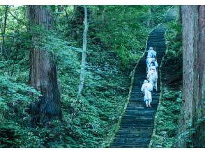 【Yamagata】Dewa Sanzan pilgrimage trek with Yamabushi