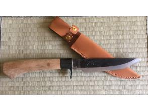 【京都・亀岡】本格和式ナイフ作り体験ー半日コースー <将大鍛刀場>