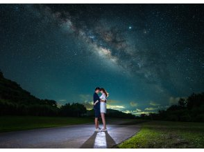 【沖縄・石垣島】星空プロポーズフォト☆観たこともない満天の星空でのプロポーズは一生の想い出に残るはず♪指輪と一緒にたくさんの空の宝石を☆