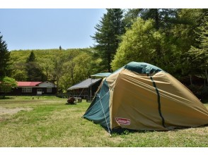 [Akita / Kazuno] You can enjoy auto camp in the schoolyard of a wooden school building surrounded by nature! Limited to one group per day Site with AC power supply [Accommodation]