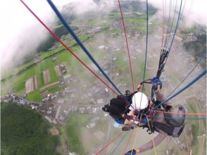 [Hyogo Tamba] paraglider half-day experience and tandem flight course