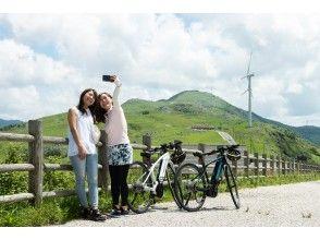 【愛媛・四国カルスト】経験者向け、爽やかな風を感じられる「がっつり1日サイクリングプラン」