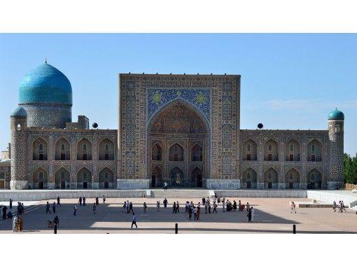 本国大使館の広報官も緊急参戦!!現地出身ガイドの案内で美イスラム文化の隆盛と現地の人々の暮らしを学ぶウズベキスタン行きオンライン旅行体験の紹介画像