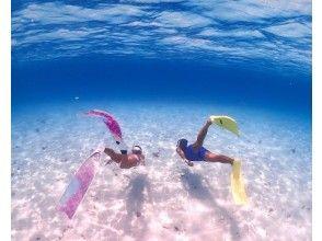 【宮古島・伊良部島】人気の八重干瀬ボートシュノーケル!満足度No.1☆ドローン・水中撮影付き。